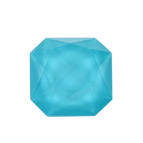 Turquoise + Crystal Fancy Faceted Octagon 17X17 mm 14.46 Carats GSCTU010