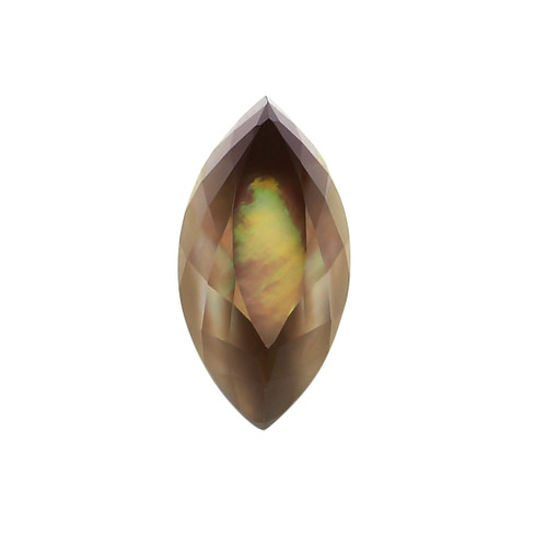 Smoky MOP Fancy Faceted Marquise 9X11X22 mm 15.01 Carats GSCSMK001