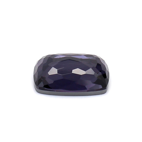 Amethyst +Crystal Cushion Faceted 9X12 mm  4.87 Carat GSCAM024