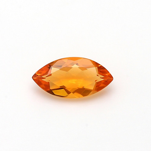 Fire Opal Marquise Faceted 5X10 mm 0.70 Carats GSCFO019