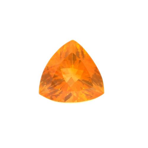 Fire Opal Trillion Faceted 10X10 mm 2.29 Carats GSCFO021