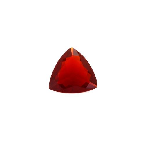 Fire Opal Trillion Faceted 8X8 mm 0.71 Carats GSCFO024