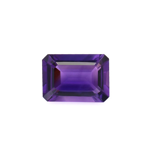 Amethyst Octagon Faceted 10X14 mm 6.52 Carats GSCAM031