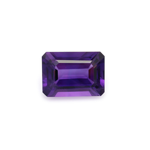 Amethyst Octagon Faceted 10X14 mm 6.70 Carats GSCAM032