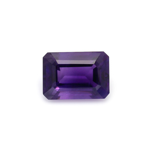 Amethyst Octagon Faceted 10X14 mm 7.38 Carats GSCAM033