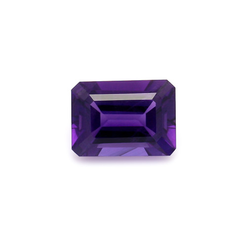 Amethyst Octagon Faceted 10X14 mm 7.50 Carats GSCAM034
