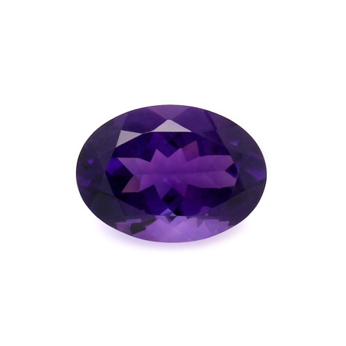Amethyst Oval Faceted 13X18 mm 11.63 Carats GSCAM038