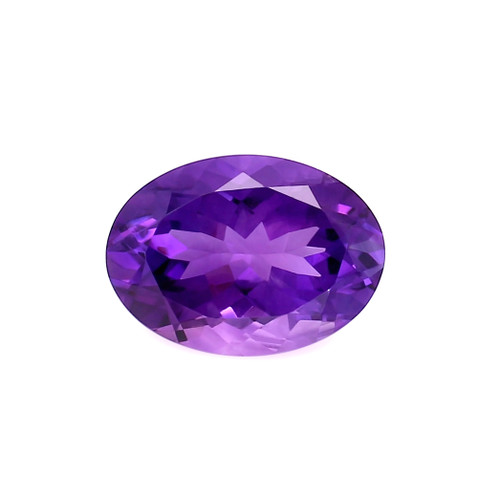 Amethyst Oval Faceted 13X18 mm 11.64 Carats GSCAM039