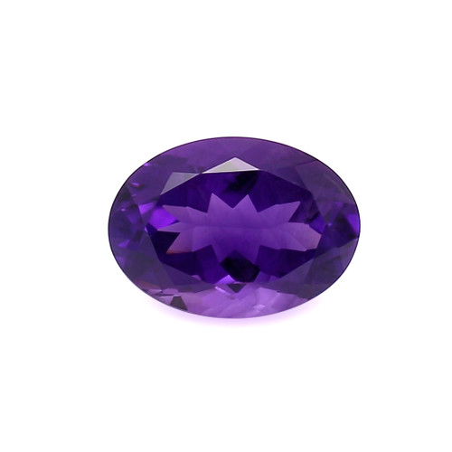 Amethyst Oval Faceted 13X18 mm 12.06 Carats GSCAM040