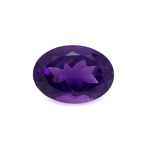 Amethyst Oval Faceted 13X18 mm 12.27 Carats GSCAM042