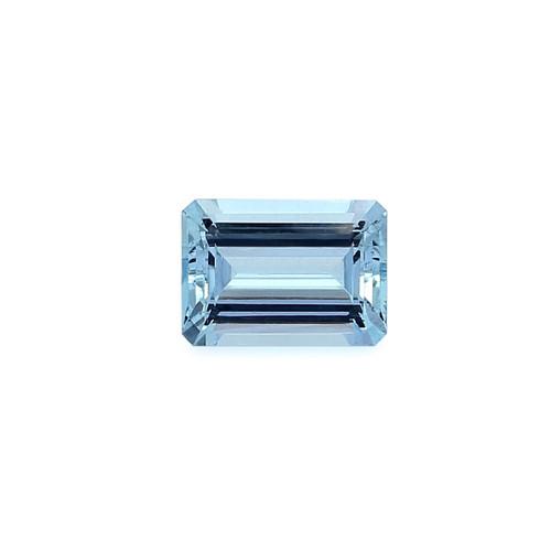 Aquamarine Octagon Faceted 10X14 mm 6.81 Carats GSCAQ117