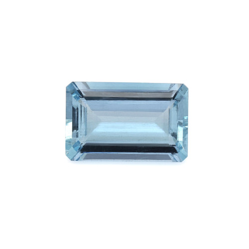 Aquamarine Octagon Faceted 13X20 mm 13.78 Carats GSCAQ119