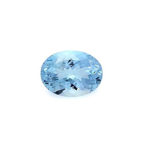 Aquamarine Oval Faceted 12X16 mm 8.42 Carats GSCAQ124