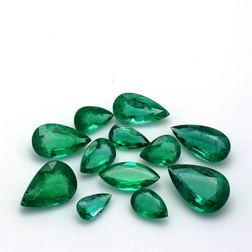 Emerald Pear - Marquise  41 Piece  69.23 Carats GSCEM0035