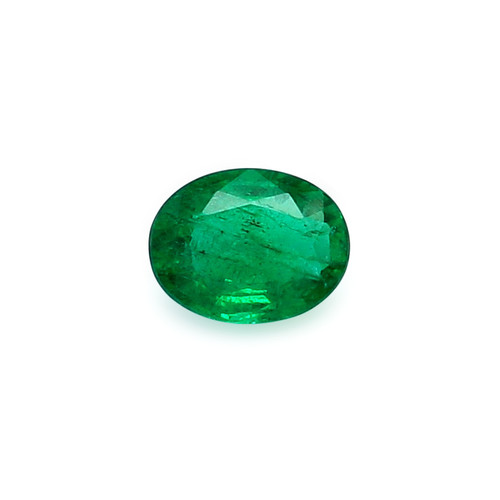 Emerald Oval Faceted 7 X 9 mm 1.87 Carats GSCEM0047