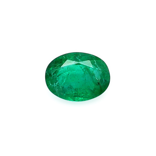 Emerald Oval Faceted 8 X 10 mm 1.96 Carats GSCEM0048