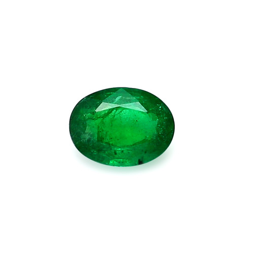 Emerald Oval Faceted 8 X 10 mm 2.02 Carats GSCEM0049