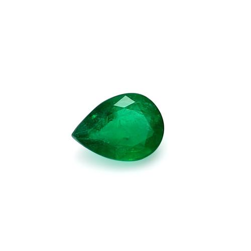 Emerald Pear Faceted 8 X11 mm 2.53 Carats GSCEM0060