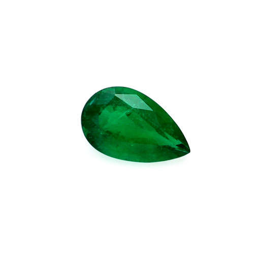 Emerald Pear Faceted 8 X13 mm 3.08 Carats GSCEM0064