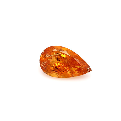 Spessartite Pear Faceted 6 X  10 mm 1.86 Carats GSCSPS020