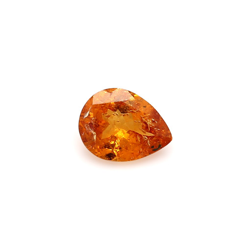 Spessartite Pear Faceted 7 X  9 mm  1.45 Carats GSCSPS024
