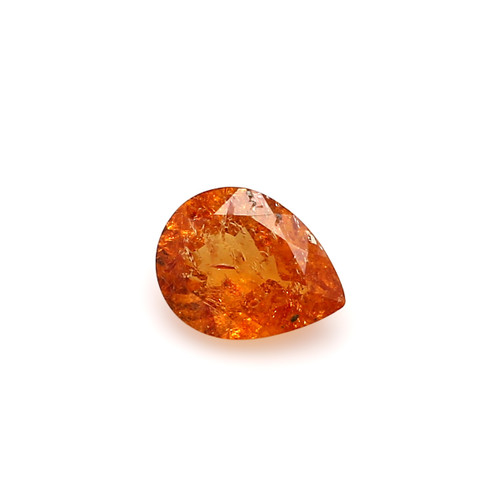 Spessartite Pear Faceted  7 X  9 mm  1.75 Carats GSCSPS025