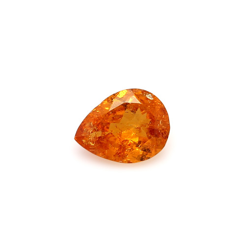 Spessartite Pear Faceted  7 X  9 mm  1.82 Carats GSCSPS026