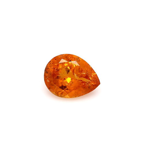 Spessartite Pear Faceted  7 X  9 mm  2.12 Carats GSCSPS027