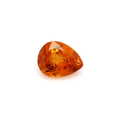 Spessartite Pear Faceted  7 X  9 mm  2.25 Carats GSCSPS029