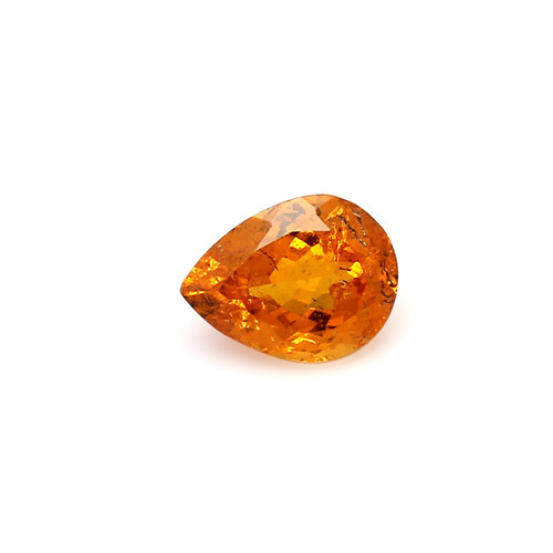 Spessartite Pear Faceted  7 X  9 mm  2.27 Carats GSCSPS030