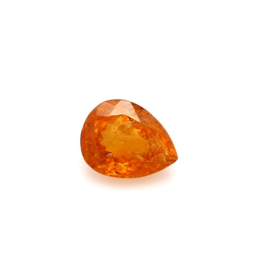 Spessartite Pear Faceted  7 X  9 mm  2.47 Carats GSCSPS032