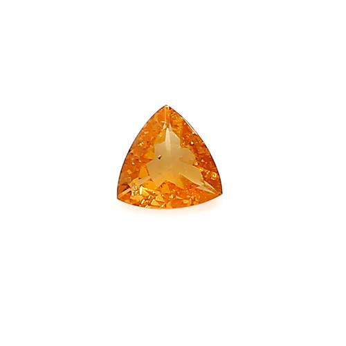 Spessartite Trillion  Faceted 7 X 7 mm 1.06 Carats GSCSPS038