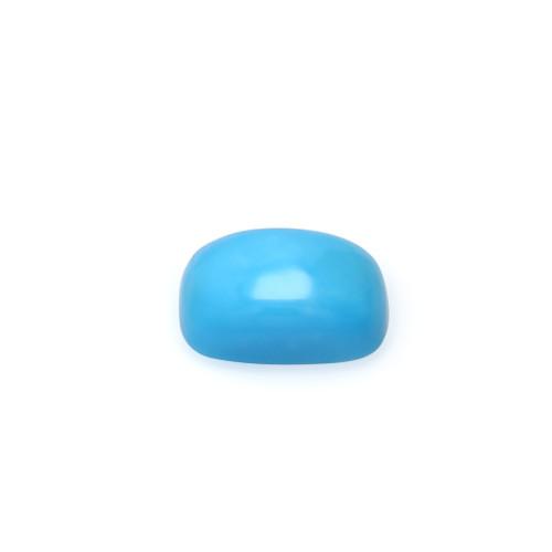 Turquoise Cushion Cabochon 8X12 mm 3.57 Carats GSCTU021