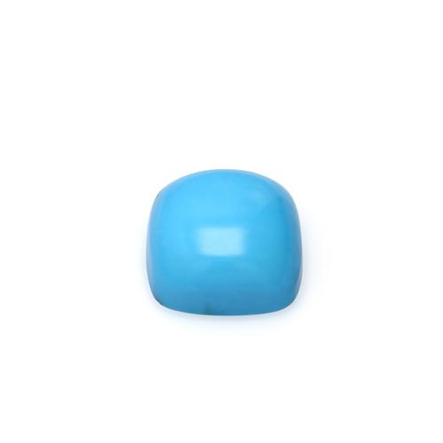Turquoise Cushion Cabochon 15X15 mm 14.55 Carats GSCTU034
