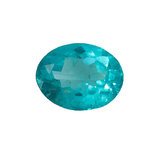 Apatite Blue Oval Faceted 7 x 9 x 4.7 mm  2.65 Carats GSCAPB002