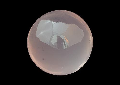 Rose Quartz Ball 12.25 x 12.25 x 12.5 mm 12.45 Carats GSCRQ004