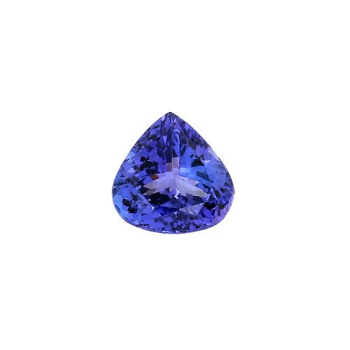 Blue Tanzanite Heart  12.5X13.5 mm 7.96 Carats GSCTZ0004