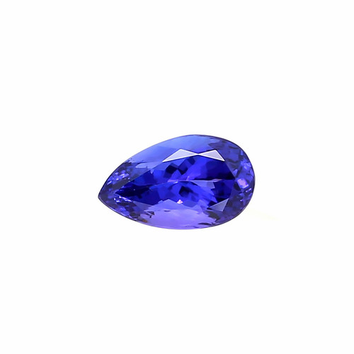 Tanzanite Pear Faceted 8X13 mm 4.67 Carats GSCTZ0009