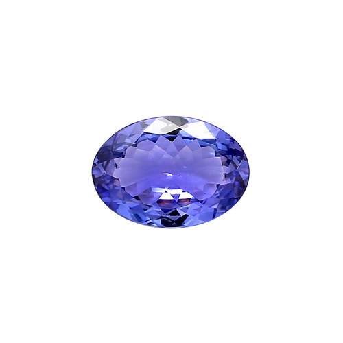 Tanzanite Oval 10X14 mm 5.18 Carats GSCTZ0015