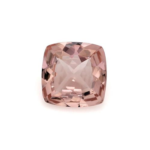 Peach Morganite GSCPEMO007  7X7 - 0.88