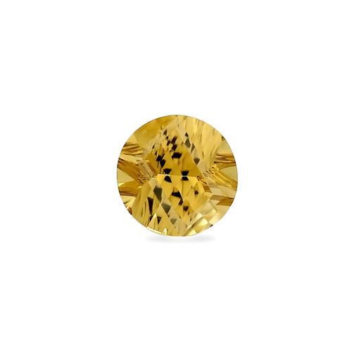 Champagne Quartz Concave Cut 12 x 12 mm 5.54 Carat GSCCV005