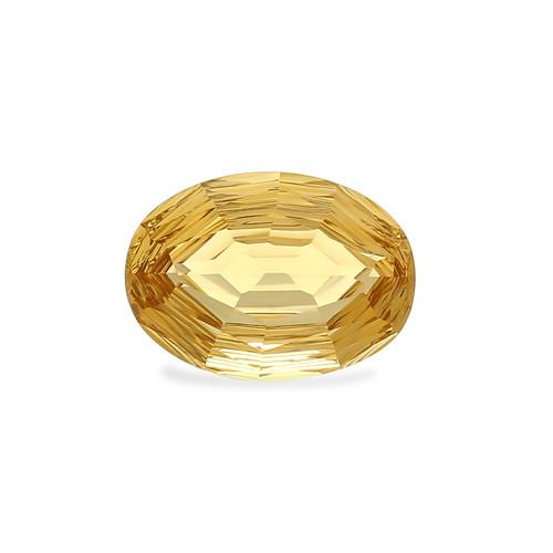 Champagne Quartz Concave Cut  18 x 13 mm 12.57 Carat GSCCV009