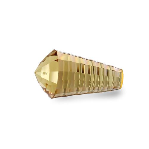 Champagne Quartz Concave Cut 18 x 10 x 10 mm 8.54 Carats GSCCV010