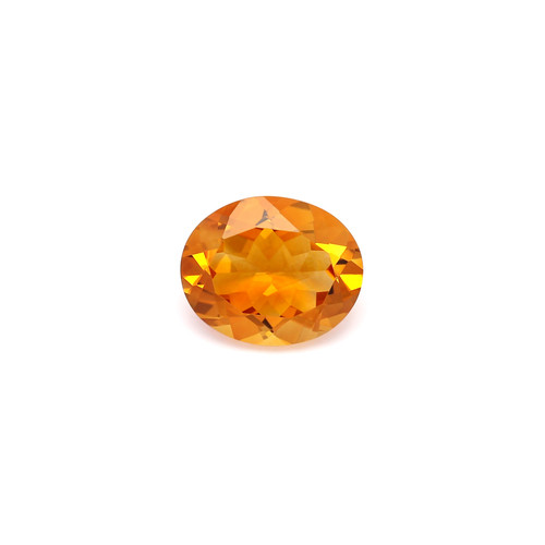 Citrine Oval Faceted  3.91 Carat GSCCI002