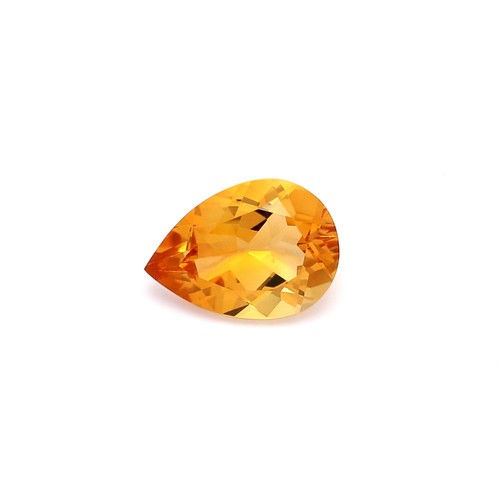 Citrine Pear Faceted 7 x 10 mm 1.58 Carat GSCCI006