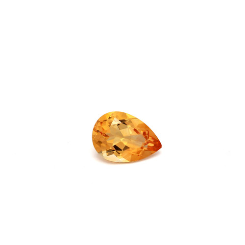 Citrine Pear Faceted 10 x 7 mm 1.62 Carat GSCCI015
