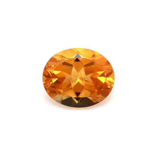 Citrine Oval Faceted 10 x 12 mm 4.44 Carat GSCCI018
