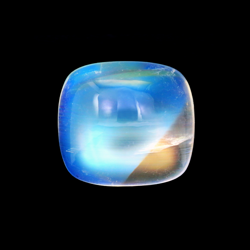 Rainbow Moonstone GSCRMO017  10X11 - 4.77 ct