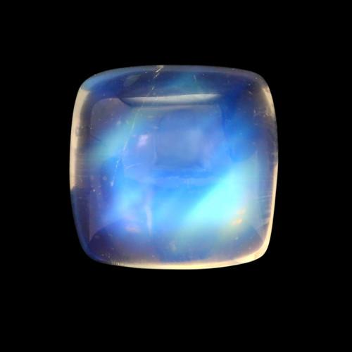 Rainbow Moonstone GSCRMO052  9X9 - 3.38 ct