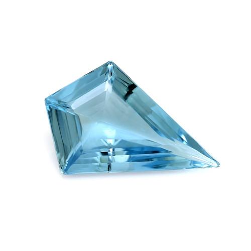 Aquamarine Fancy Cut 17 x 11 mm 3.28 Carat GSCAQ056